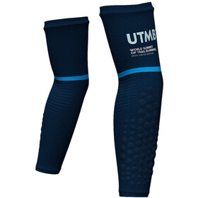 Compressport ArmForce Ultralight Armlinge UTMB 2020 blue